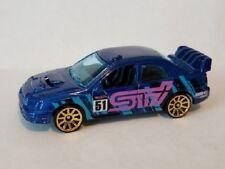 Hot Wheels Subaru Impreza WRX 1/64 Loose Mint 5 PK Exclusive