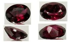 19thC Antique 2½ct Rhodolite Garnet Ancient Egyptian Jewelry Pharaoh's Royal Gem