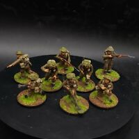 Well Painted 28mm Bolt Action British engineers (metal&plastic) ×8 squad #5 ww2