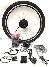 700c wheel 36v 250W front wheel electric bike conversion kit with thumb throttle