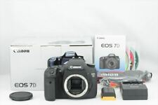 【Top Mint in Box】 Canon EOS 7D Digital Camera Shutter count 9583 From Japan 6476