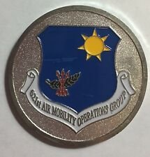USAF 621st Air Mobility Operations Group Challenge Coin