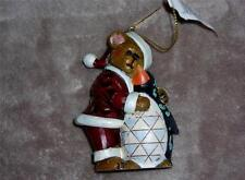 Jim Shore Jolly Ol' Klausbeary with Waddles Hanging Ornament-4035834-Nib