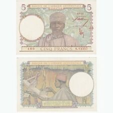 FRENCH WEST AFRICA  - 5 Francs - P26 - UNC.