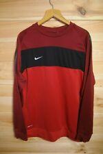 Nike Dri Fit Sweatshirt Red XL