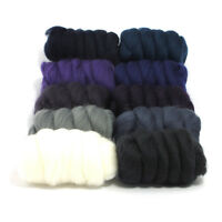 Starry Night - Dyed Merino Wool Top - Felting - Roving - Spinning - 250g