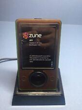 New ListingMicrosoft Zune 30Gb Brown/Green (1091) And Dock- Fully Tested - Great Batt Life!