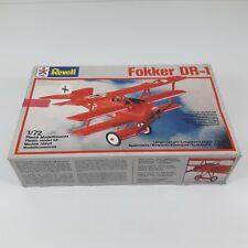 1/72 AVION FOKKER DR-1 SCALE MODEL KIT REVELL Nº4154