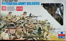 1:72 ESCI/ERTL  #207  World War British 8th Army Soldiers