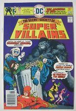 SECRET SOCIETY OF SUPER VILLAINS #1 DC COMICS 1976 GORILLA GRODD CAPTAIN COLD