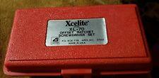 Xcelite Vintage XL-70 Offset Ratchet Screwdriver Set USA NOS