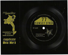 "Werbe- Flexi -Single "" 77 Sunset Strip"" MagaScene die Nr:1 in Hannover"