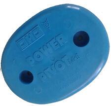 "Power Pivot Mk2 Vintage 4.5"" Skateboard Tail Saver Original 70s Old School BLUE"