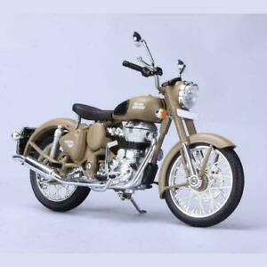 New Motorcycle Royal Enfield Classic 500 1:12 Scale Model Desert Storm
