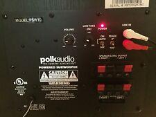 Polk Audio PSW10 Subwoofer Amplifier Plate