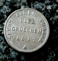 4 Groschen 1817 A Berlin  Brandenburg-Preußen Friedrich Wilhelm III. 1797-1840