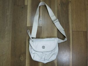 Lululemon Cream White Festival Crossbody Bag Dance Your Asana Off
