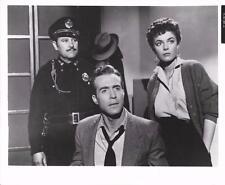 "Ricardo Montalban,Anne Bancroft,""A Life in the Balance""1955,Vintage Movie Still"