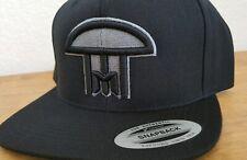 New! INFECTED MUSHROOM Snapback Flat Bill Hat/Cap Black
