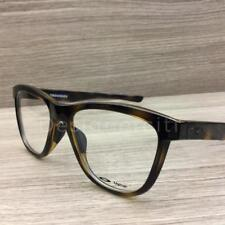 831d3dcb95 Oakley Grounded Eyeglasses Polished Tortoise OX8070-0253 Authentic 53mm