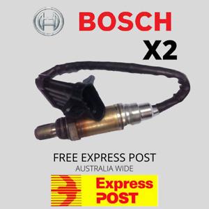 2 BOSCH OXYGEN SENSORS SUIT  HOLDEN VS VT VU VX VY  COMMODORE O2 V6 V8 GEN 3 LS1