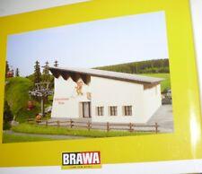 SH Brawa 6343 Hahnenkammbahn Gebäudebausatz Bergstation Talstation