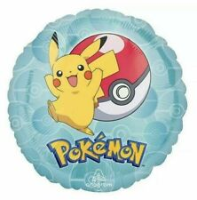 Pokemon Foil Balloon Kids Birthday Party Supplies Decorations Pikachu, Pokémon