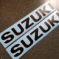 Suzuki TS 185 tank decals Black White vintage stickers graphics set 125 250