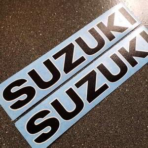 Suzuki TS 185 tank decals Black White vintage stickers graphics set 125 250