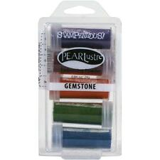 GEMSTONE PEARLUSTER EMBOSSING Kit Collection Embossing Powders Stampendous NEW