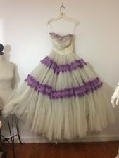 Vintage 50S Ballgown Prom Wedding Garden Party Dress