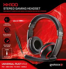 Gioteck XH100 Wired Stereo Headset  PS4 Xbox One PC DVD  (Unknown format)