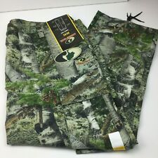 Mossy Oak Country Men's Hunting Scent Control Waterproof Cargo Pants 3XL 48-50
