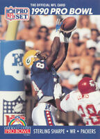 Sterling Sharpe 1990 Pro Set #415 Green Bay Packers football Card
