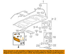 GM OEM Sunvisor-Sun Visor Right 23234421