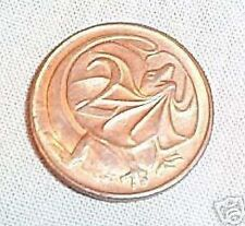 1966  AUSTRALIAN CIRCULATED 2 CENT  COIN