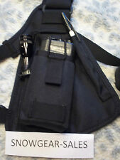 Hands Free Radio Chest Harness for Pro & UHF radios, Pouch Style,RCH 100 USA