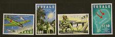 Tuvalu: 1993 50º aniversario de la guerra en el Pacífico sg668-71 Menta desmontado