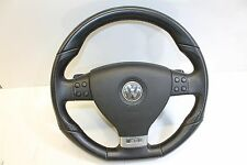 VW Golf 5 V R R32 Lenkrad DSG Leder Lederlenkrad Multifunktion Schaltwippen RAR!