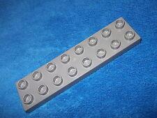 Lego Duplo Ritterburg aus 4777 + 4776 + 4779 + 4785 16er Noppen Stein flach Grau