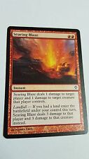 1 x Searing Blaze - rare - Worldwake / Duel Pont - MTG - NM - magic the