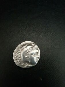 Antique coin, origin not known,  possibly greek/Roman or silver.GOOD CONDITION