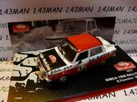 RMC6E voiture 1/43 IXO altaya Rallye Monte Carlo : SIMCA 1000 rallye 2  1973 #34