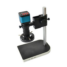 C-mount Lens Stand Kit 14MP HDMI USB Industry Microscope Video Camera Set System