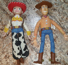 Toy Story Talking Action Figures Sherriff Woody & Jessie Thinkway Toys Battery