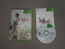 Final Fantasy XIII-2 (Microsoft Xbox 360, 2012) Complete