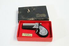 Shields Lighters For Men Derringer Style Silvertone Cigarette Lighter In Boxes
