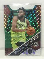 Karl -Anthony Towns 2020 Panini Mosiac #2 Will To Win Minnesota wolves