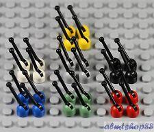 LEGO - Levers / Antennae - PICK YOUR COLORS -  Minifigure Utensil Antenna Lever
