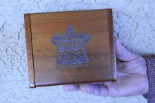 VTG NFL ALL STAR GAME 2002 HAWAII PRO BOWL ENGRAVED WOOD WATCH PRESENTATION BOX